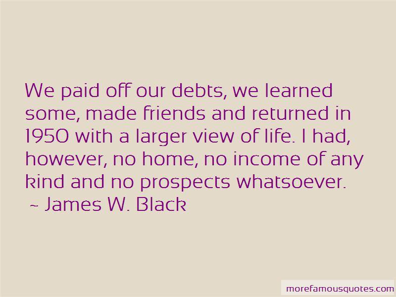 James W. Black Quotes
