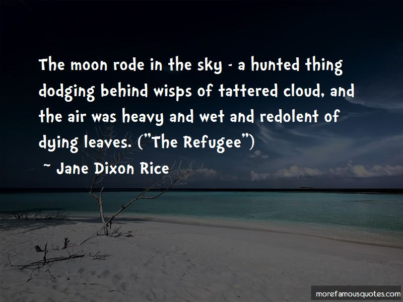 Jane Dixon Rice Quotes