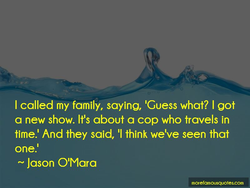 Jason O'Mara Quotes Pictures 2