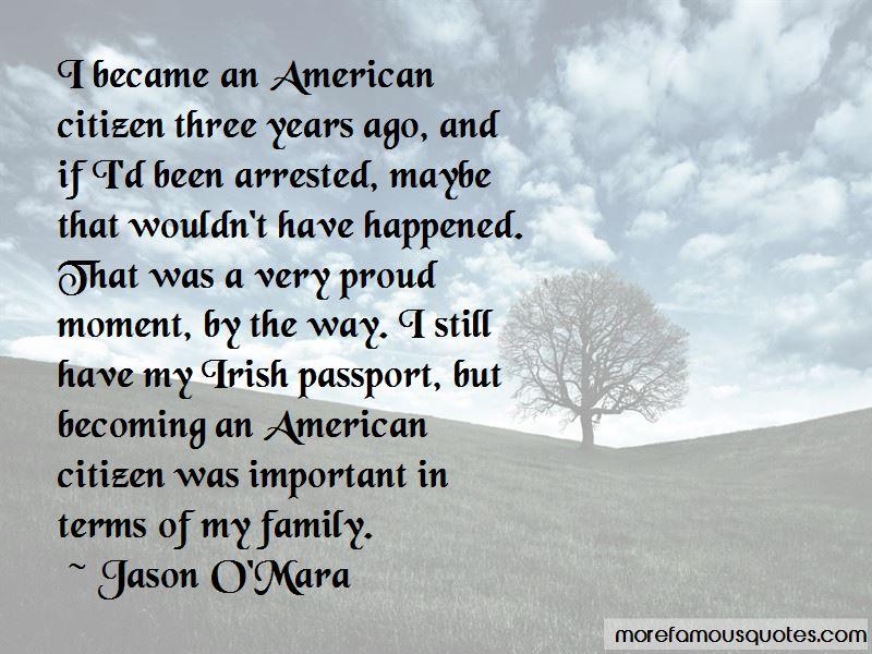 Jason O'Mara Quotes