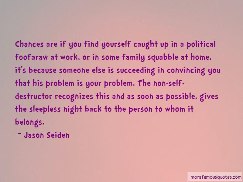 Jason Seiden Quotes
