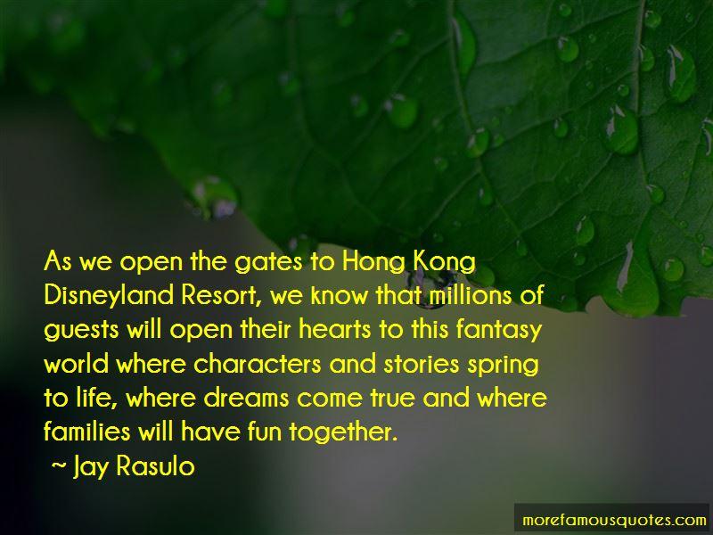Jay Rasulo Quotes