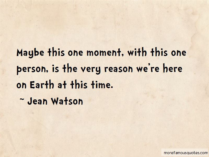 Jean Watson Quotes Pictures 2