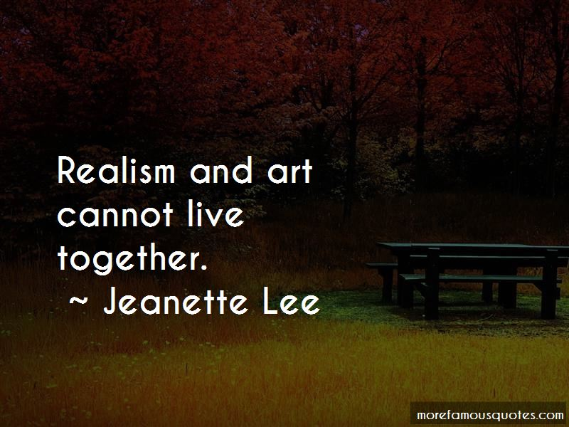 Jeanette Lee Quotes Pictures 3