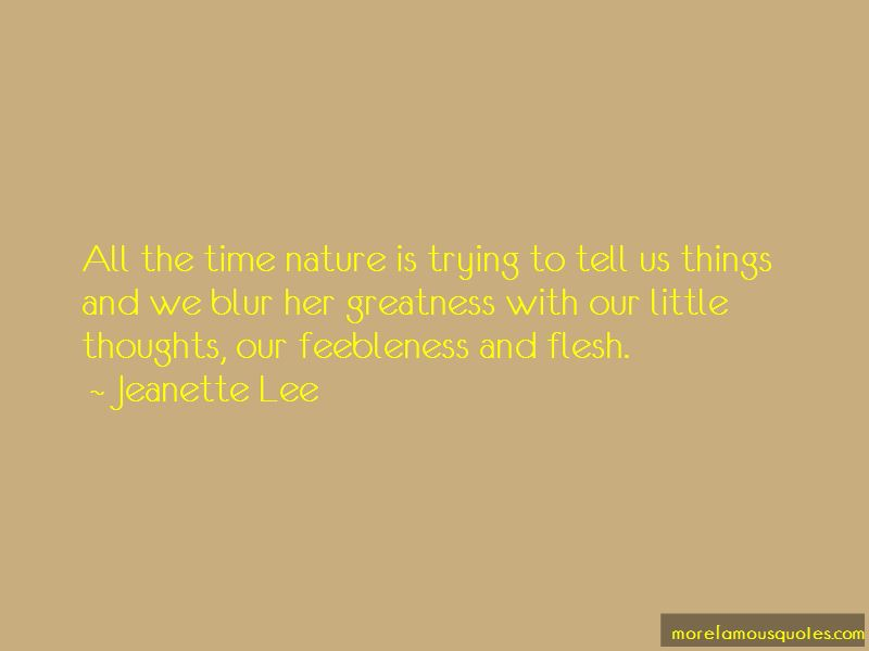 Jeanette Lee Quotes Pictures 4