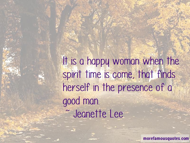 Jeanette Lee Quotes