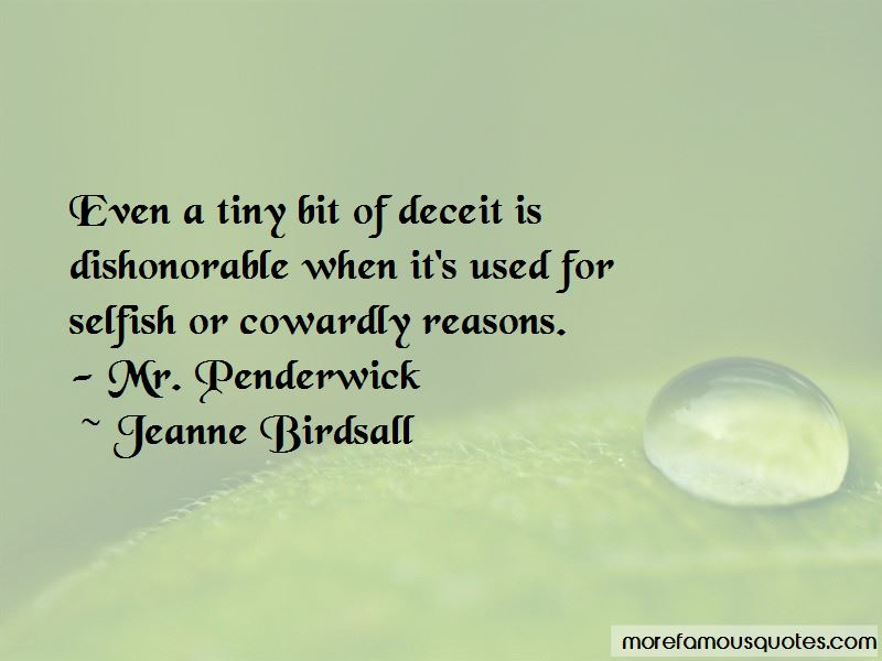 Jeanne Birdsall Quotes Pictures 3