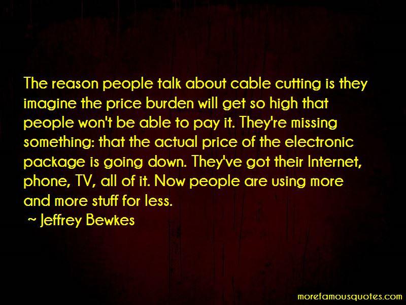 Jeffrey Bewkes Quotes