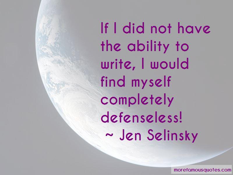 Jen Selinsky Quotes Pictures 3