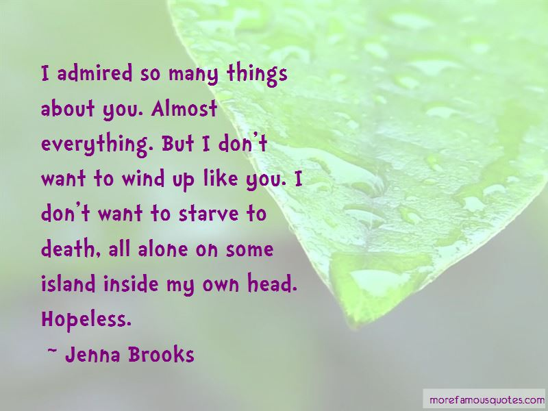 Jenna Brooks Quotes Pictures 3