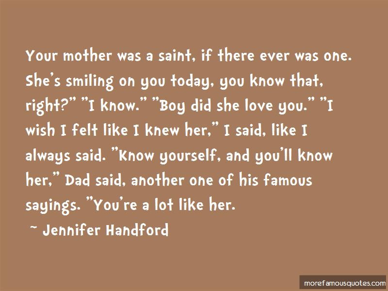 Jennifer Handford Quotes Pictures 3