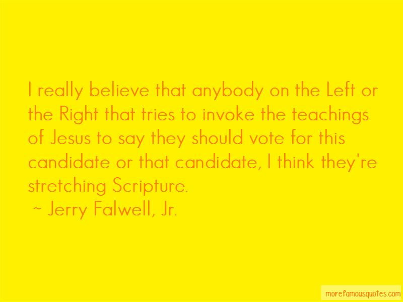Jerry Falwell, Jr. Quotes Pictures 3
