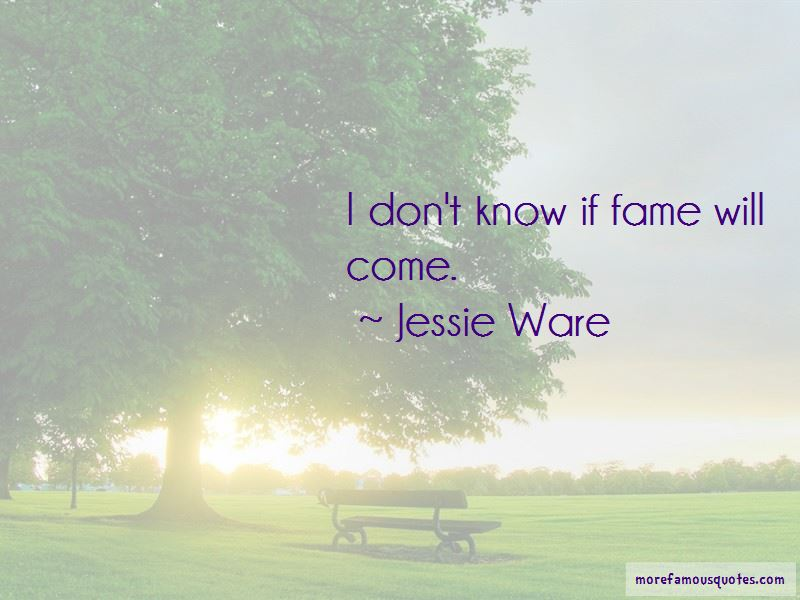 Jessie Ware Quotes Pictures 3