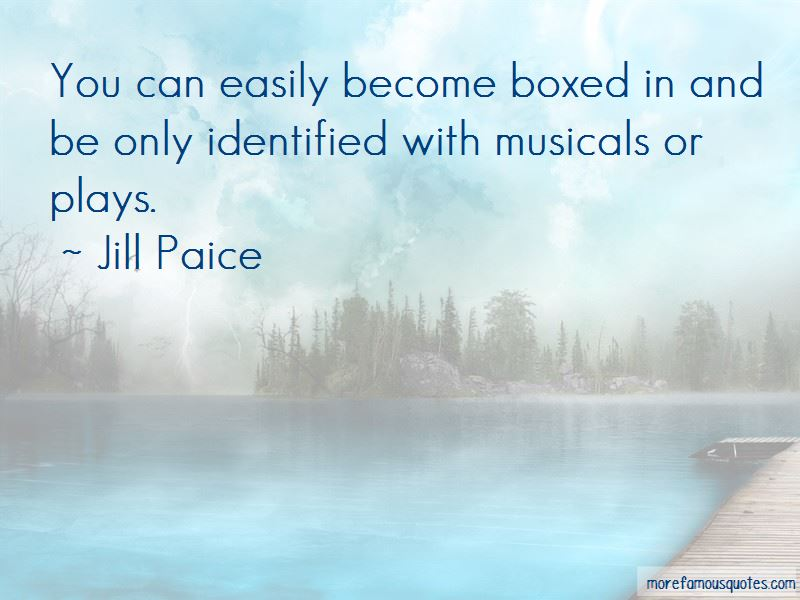 Jill Paice Quotes