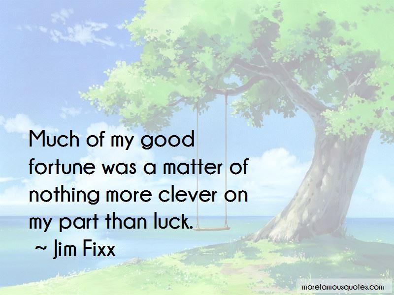 Jim Fixx Quotes