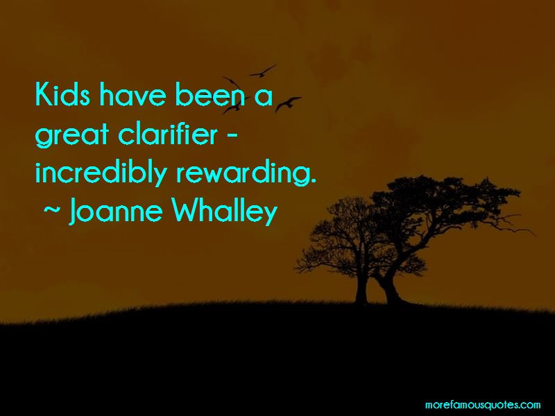 Joanne Whalley Quotes Pictures 2