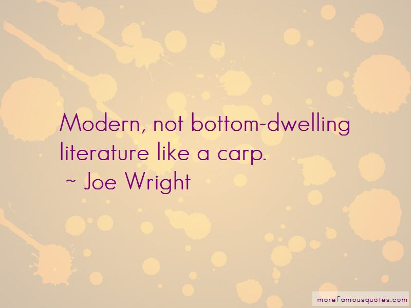Joe Wright Quotes Pictures 2