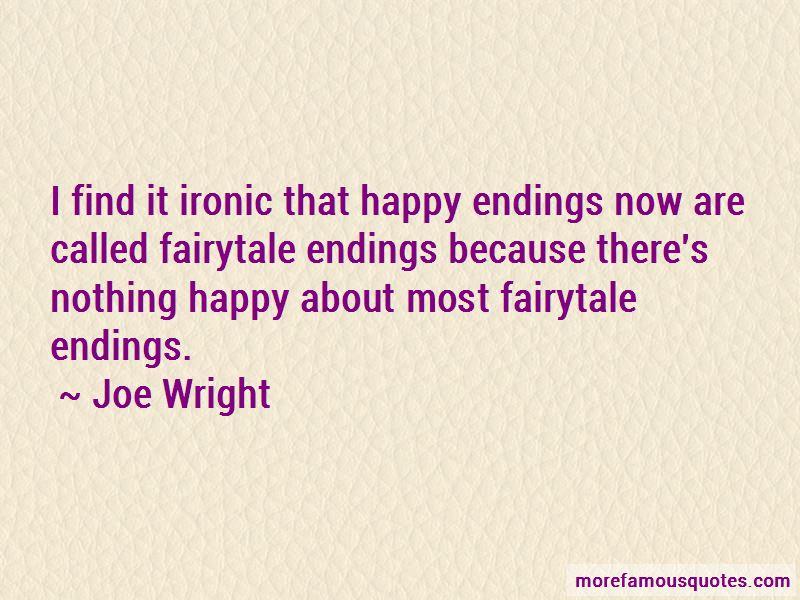 Joe Wright Quotes