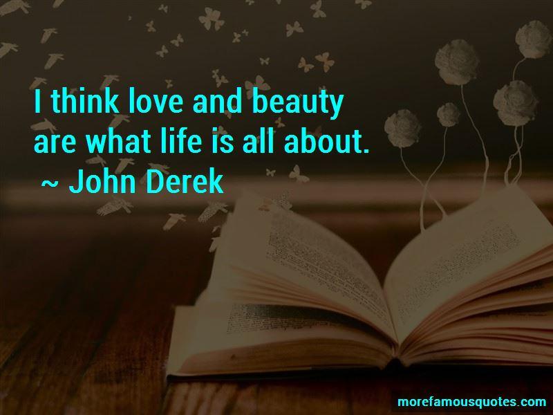 John Derek Quotes