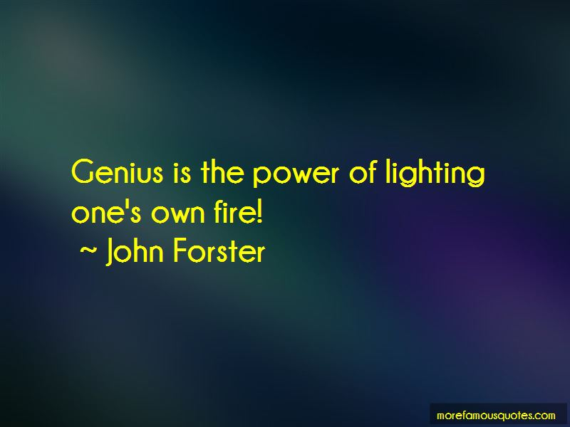 John Forster Quotes