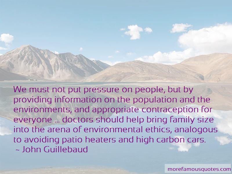 John Guillebaud Quotes