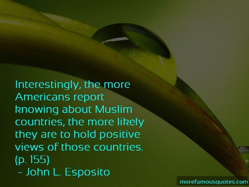 John L. Esposito Quotes Pictures 2