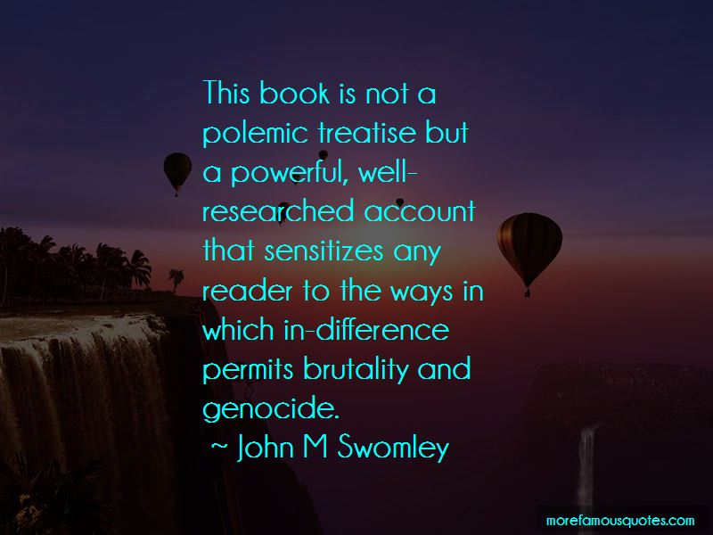 John M Swomley Quotes