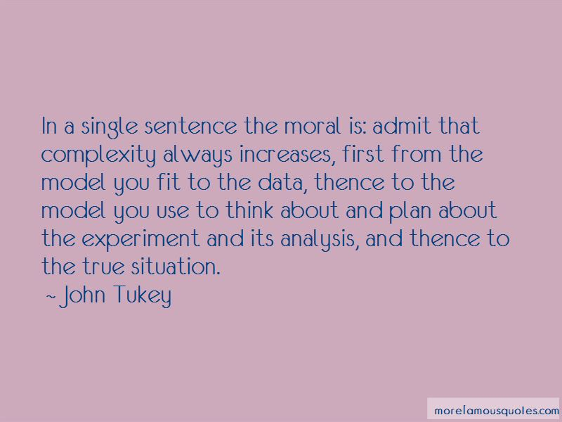 John Tukey Quotes Pictures 2