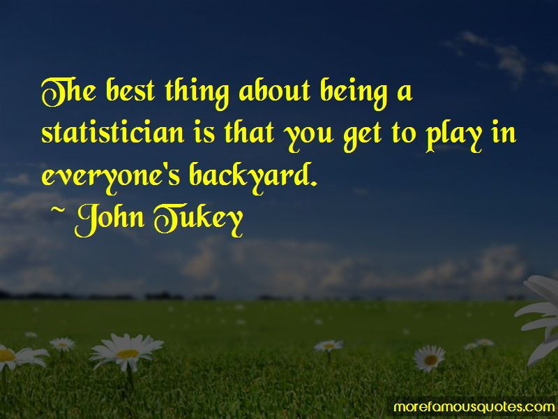 John Tukey Quotes Pictures 4