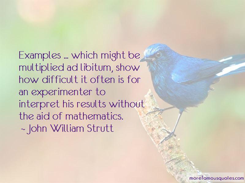 John William Strutt Quotes Pictures 2