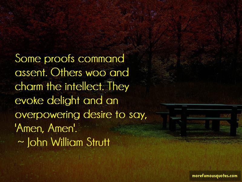 John William Strutt Quotes