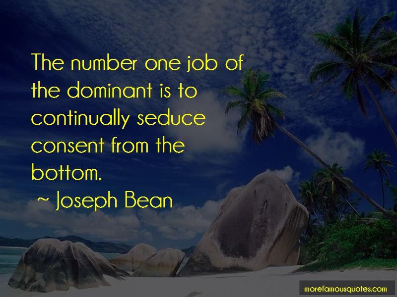 Joseph Bean Quotes