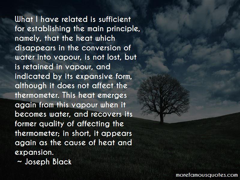 Joseph Black Quotes
