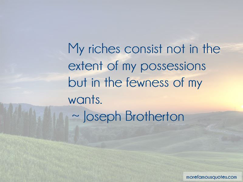 Joseph Brotherton Quotes