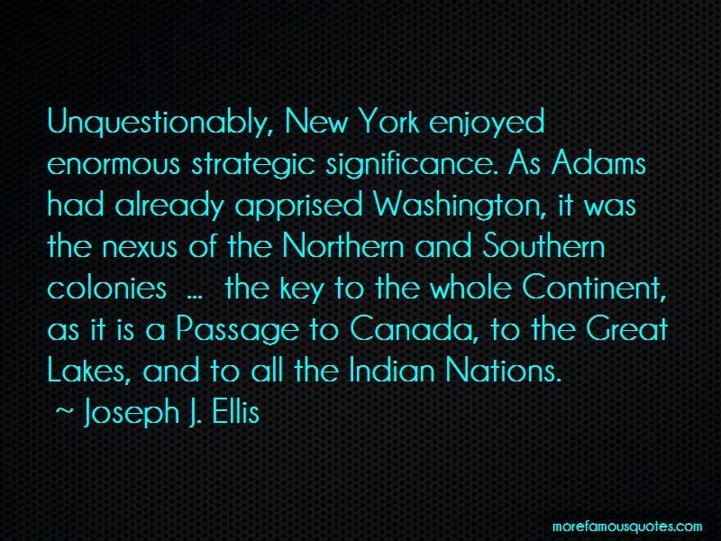 Joseph J. Ellis Quotes