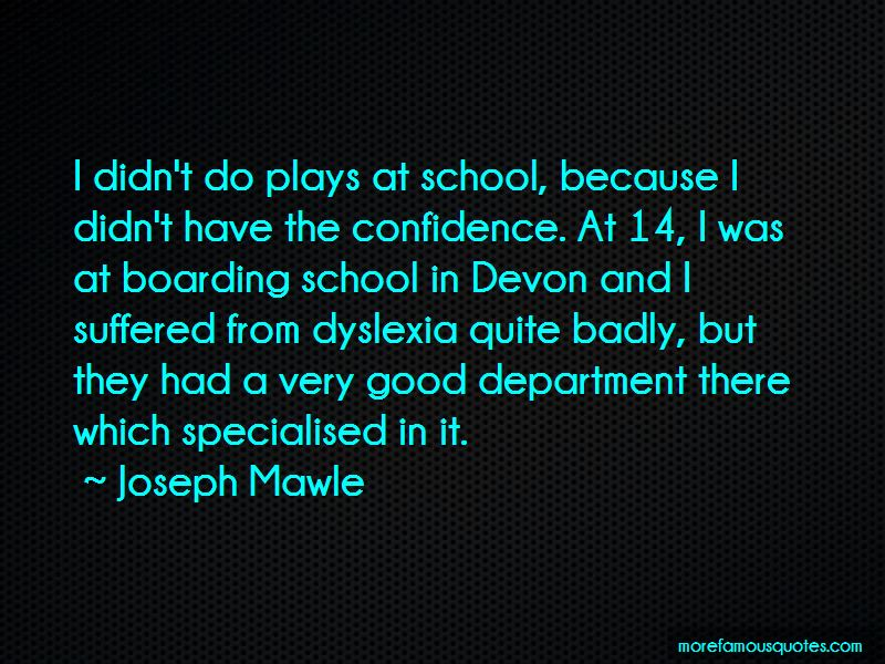 Joseph Mawle Quotes Pictures 2