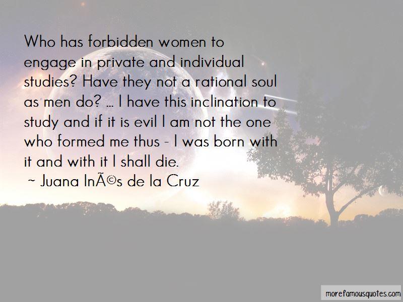 Juana Ines De La Cruz Quotes