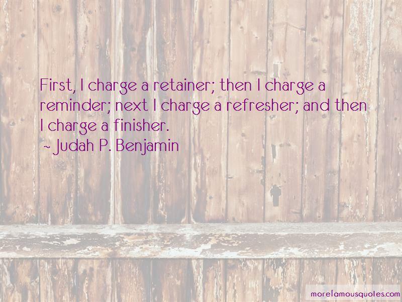 Judah P. Benjamin Quotes
