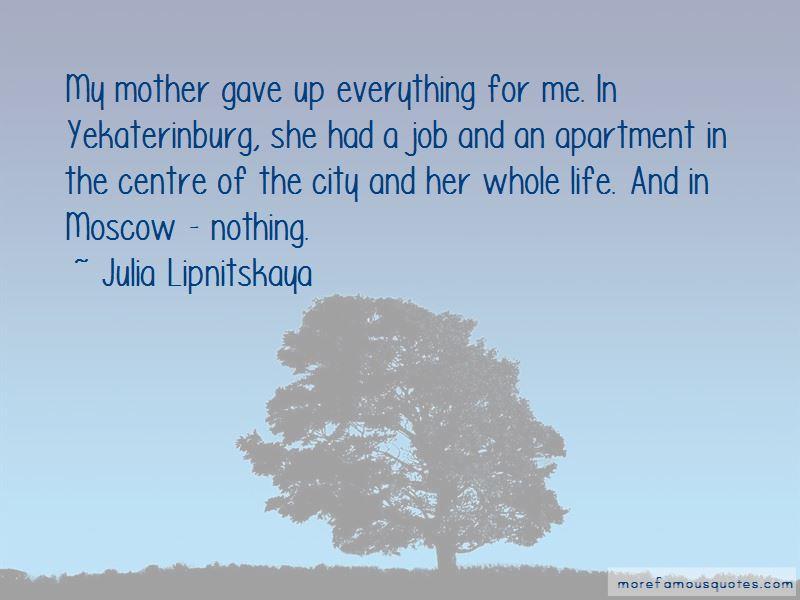 Julia Lipnitskaya Quotes