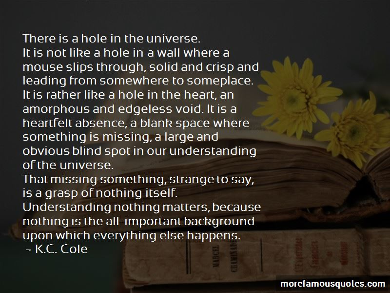 K.C. Cole Quotes Pictures 3