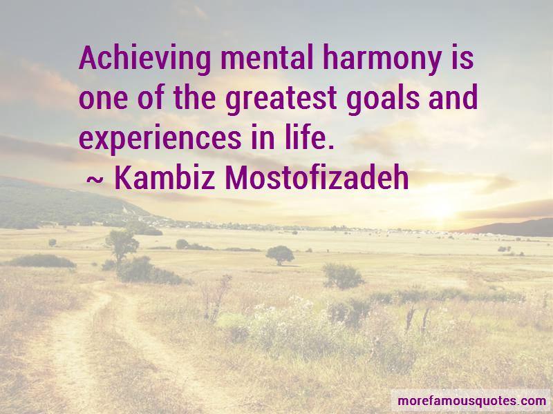 Kambiz Mostofizadeh Quotes