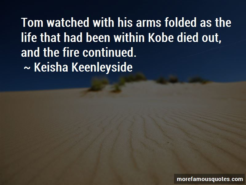 Keisha Keenleyside Quotes Pictures 2