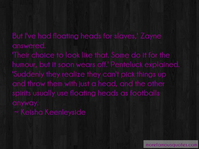 Keisha Keenleyside Quotes Pictures 3