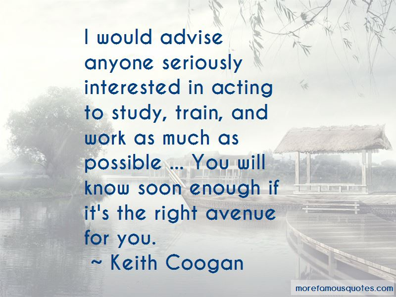 Keith Coogan Quotes