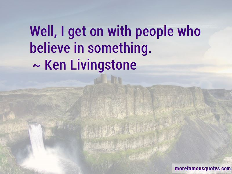 Ken Livingstone Quotes Pictures 3