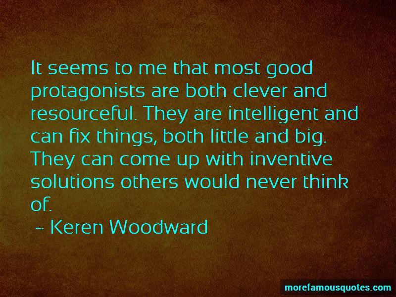 Keren Woodward Quotes