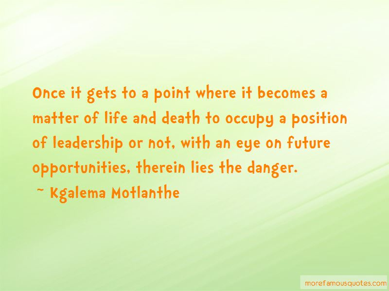 Kgalema Motlanthe Quotes Pictures 4