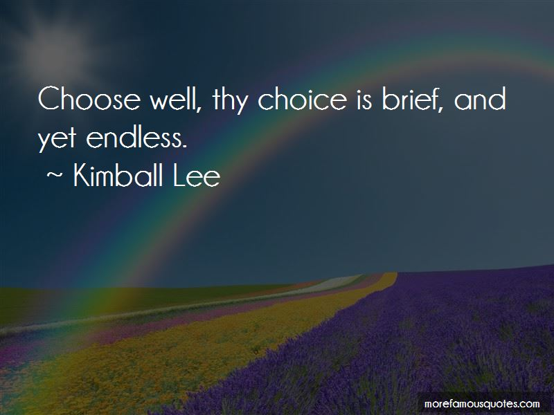 Kimball Lee Quotes Pictures 2
