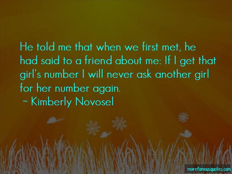Kimberly Novosel Quotes