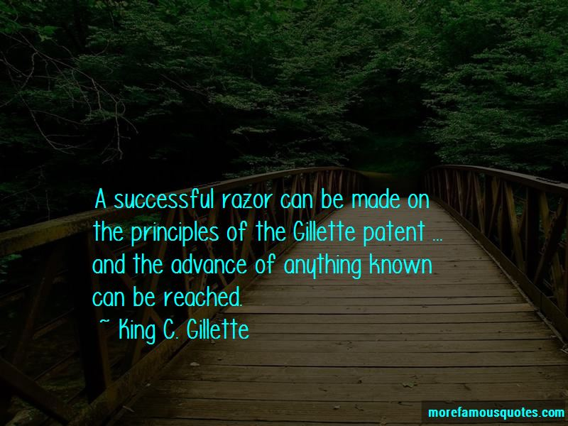 King C. Gillette Quotes Pictures 2